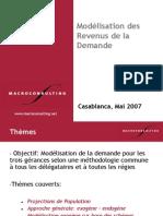 6. Modélisation Revenus de Demande