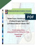 SandoyaFernando Métodos Exactos y Heurísticos Para El VRP Jornadas