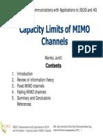 Mimo Capacity