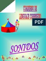 Cuaderno de Lenguaje Corregido Sonia