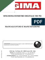 Manuale Misuratore Pressione MARS Gima m32770