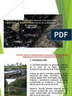 Historical Technical Issues About Soil Remediation in Ecuadorian Amazon Region