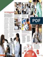 IBIS Yearbook Medical School Spread