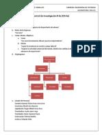 Sistema de Informacion Administrativa - Control de Investigacion 5a