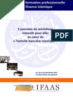 Plaquette Formation Banque Islamique Mauritanie