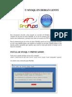 Proftpd y MySQL en Debian Lenny