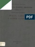 Francisco Espínola - Raza Ciega y Otros Cuentos