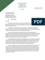 Benjamin ethics letter