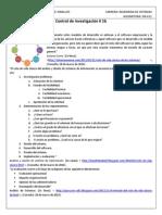 Sistema de Información Administrativa - Control de Investigacion 1b