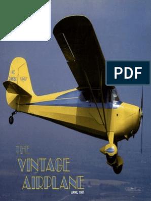 Aeronca 11AC Series Chief Center Control Yoke Emblem Reproduction Black