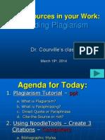Plagiarism Review.dr. Courville.2014