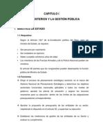 Ministerios de Estado Para Imprimir