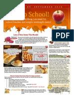 Alison's Pantry Newsletter #9 2014