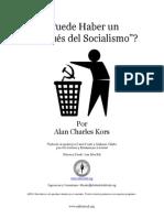 Kors, Alan C. - Puede Haber Un Después Del Socialismo