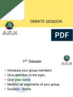 Debate Guideline