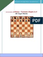 Siciliana Variante Alapin