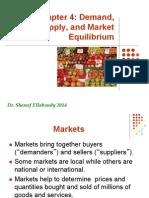 CH 4 Supply Demand