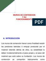 6º Clase - Empuje de Tierra - Muros de Contencion (1)