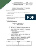 PT 039-Instalación Y-o Cambio de Trasnformador Combinado en PMI