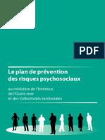 Plan de Prévention Des Risques Psychosiaux Août 2010
