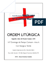 Matriz_liturgias - 16 Domingo Do Tempo Comum