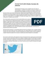 Un�Un�Un�2014 Redes Sociales De Publicidad Campo Informe