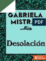 Desolacion - Gabriela Mistral