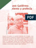 Gustavo Gutierrez Pensamiento y Profecia