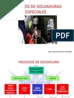 Procesos de Soldaduras Especiales