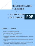 Engineering Education in Leather final
