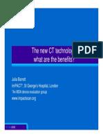 New Ct Technology Benefits
