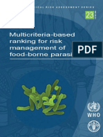 multicriterios riesgos microbiologicos