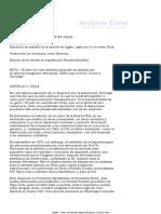Crimenes de Kissinger en Chile