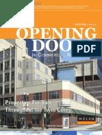 Opening Doors Winter 2009-2010