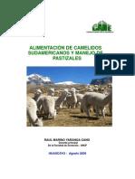 Alimentacion de Camelidos Sudamericanos