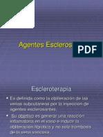 agentes esclerosantes