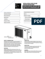 3 & 5 Tr Carrier Specs and Installation Manual