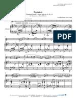 Baermann - 'Kliarnett-Schule'(Erster Teil) - Romanze.op.63.Nr.14.(Clarinet & Piano)