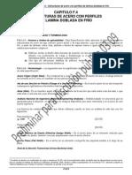 Capítulo f.4 Estructuras de Acero Con Perfiles de Lamina Doblada en Frio