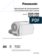 Panasonic SDR-H80 GuideSPA
