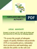 Pesticide Regulatory Policies SPRT