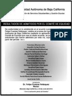 Admitidos Por Equidad Para 2015-1