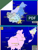 Peta Dan Single Line Kalimantan
