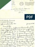 January 30 1945 to Folks