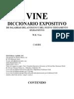 Diccionario Biblico Vine