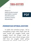 Optimal Routing