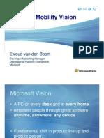 Microsoft Mobility Vision