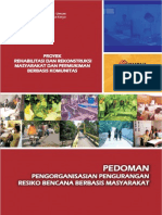 Pedoman Pengorganisasian Pengurangan Risiko Bencana Berbasis Masyarakat.pdf