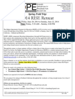 [Spring] Rise Retreat Permission Slip - Updated
