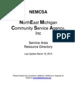 nemcsa service area resource directory